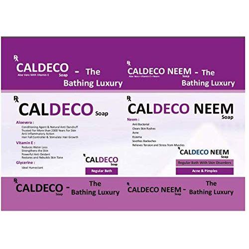 AESDER ( A Division Of Taurus Life Sciences Limited ) Caldeco Neem Ayurvedic Soap