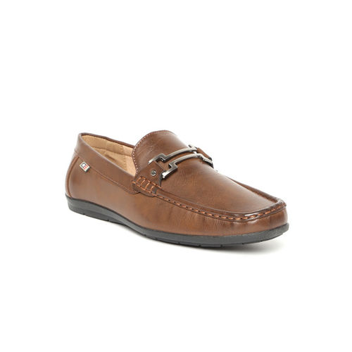 50979345a5b Buy Arrow Men Brown Leather Loafers online