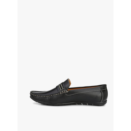 Guava Black Loafers