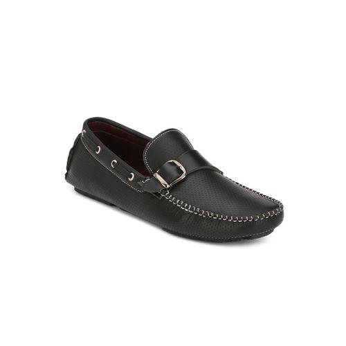 Guava Men Black Loafers