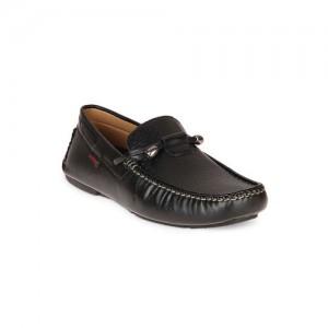 Duke Men Black Loafers