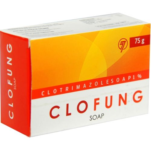 TAURUS LIFESCIENCES LIMITED Clofung Antifungal Soap-Fights & cures Dandruff,Jock's itch & Athlete's foot(Pack of 4)