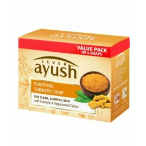 Lever Ayush Purifying Turmeric Soap