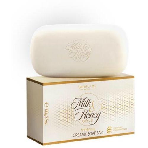 Oriflame Sweden Milk & Honey Gold softening creamy Soap Bar(pack of 4) 400g
