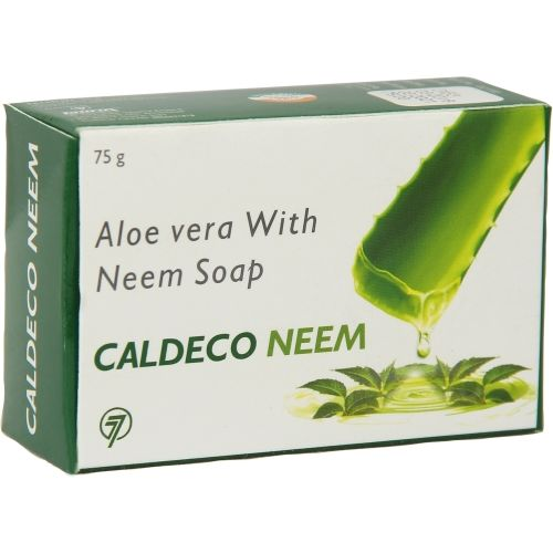TAURUS LIFESCIENCES LIMITED Caldeco Neem Ayurvedic Soap(Pack Of 3)