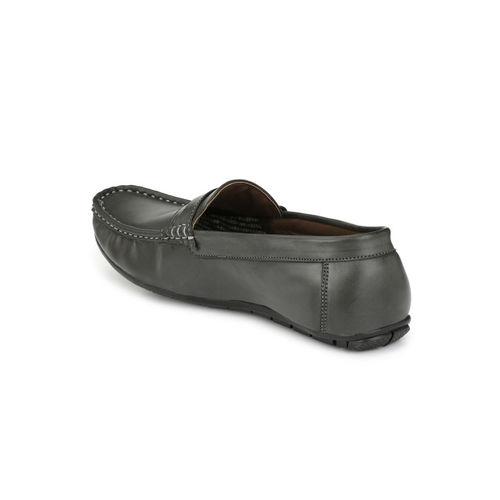 Guava Men Stylish Loafer Shoes - Black