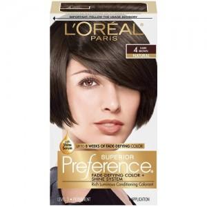 L'Oreal Paris Superior Preference Color Care System Dark Brown