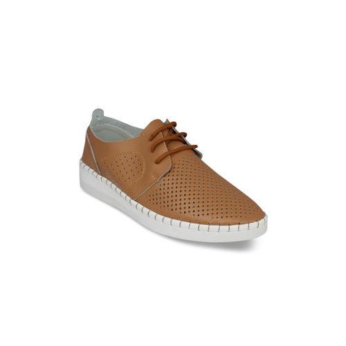 pelle albero Women Brown Sneakers