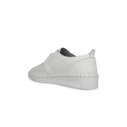 pelle albero Women White Sneakers
