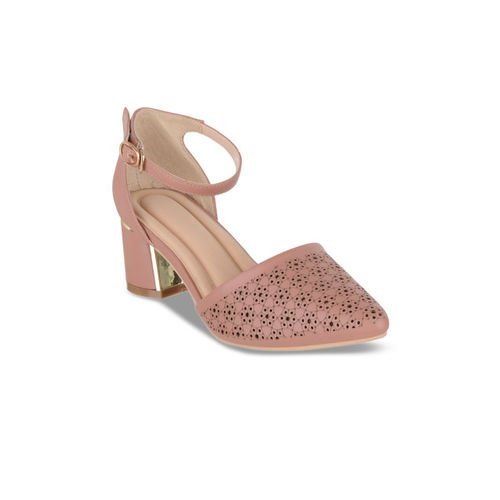 Sherrif Shoes Women Skin Color-Coloured Solid Pumps