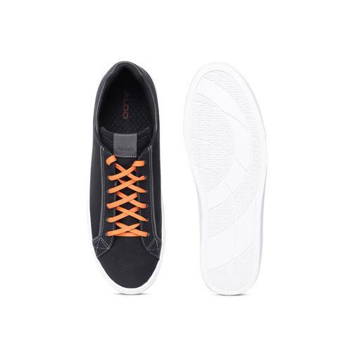 301ece71ad0b3a Buy ALDO Men Black Textured Sneakers online