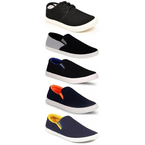 Clymb Combo Pack Of 5 Sneaker For Men's