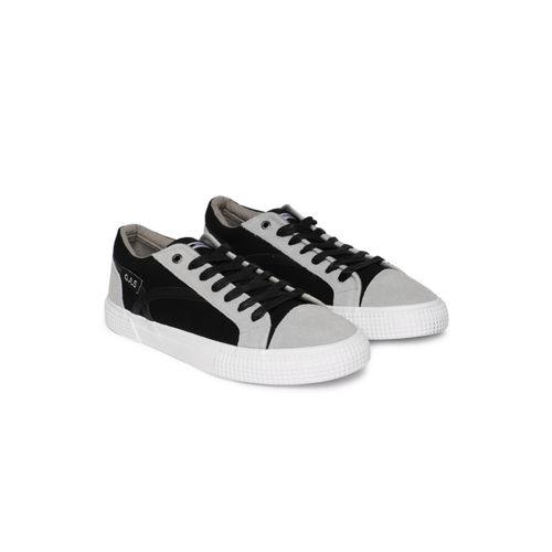 GAS Men Black and Grey CALIFORNIA LOW CVS Sneakers