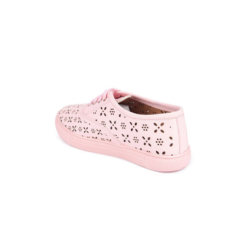 Shoetopia Women Pink Sneakers