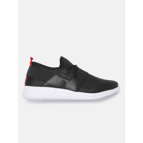 Mast & Harbour Men Black Printed Sneakers