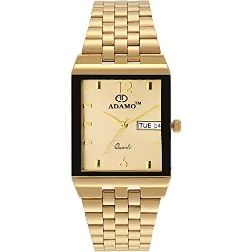 ADAMO Analog Gold Dial Men's Watch-1918YM04