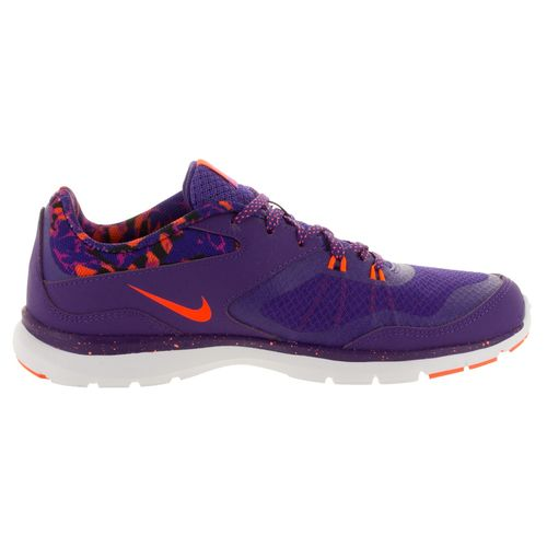 outlet store f552f 5232d ... Nike Women's Nike Flex Trainer 5 Print Purple Running Shoes 749184- ...