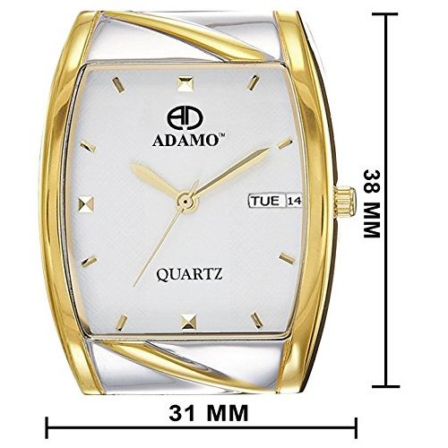 ADAMO Legacy Analog White Dial Men's Watch-9315BM01