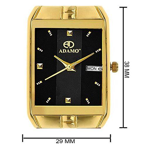 ADAMO Legacy Analog Black Dial Men's Watch-9151YM02