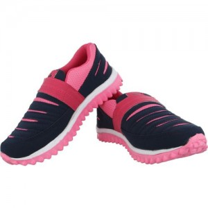 A-Stars Blue-Pink Walking / Running Shoes For Women (Pink, Blue)