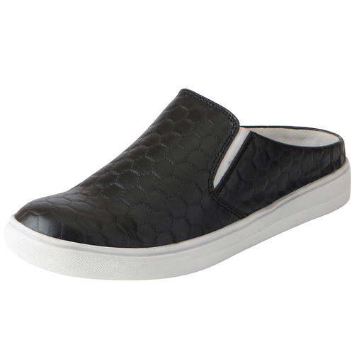 Fausto Women's Black Casual Slip On Shoes