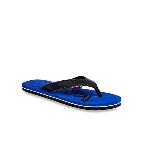 cf403c286dfa Buy Lawman Pg3 Black   Blue Flip Flops online