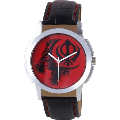 Timebre GXRED443 Red Dial Watch - For Men