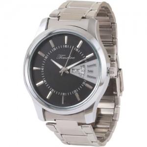 Timebre GXBLK222 Black Dial Watch - For Men