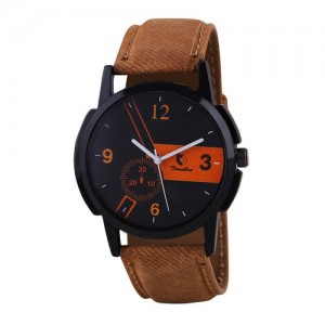 Timebre Men Ebony Dust Casual Analog Watch