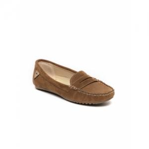 Catwalk Women Tan Brown Penny Loafers