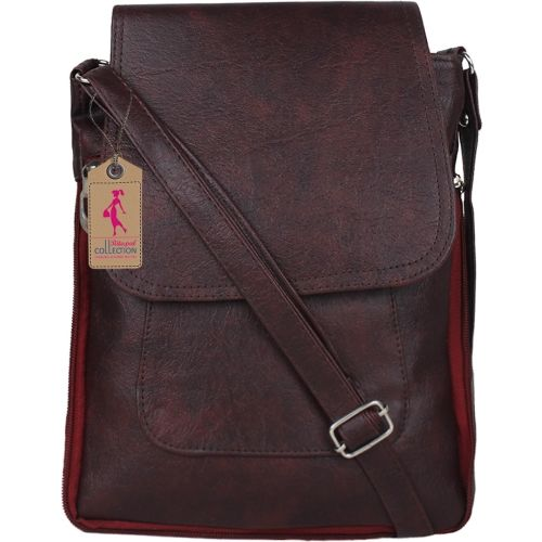 Ritupal Collection Women Casual Maroon PU Sling Bag