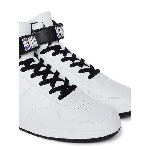 NBA Los Angeles Lakers White Sneakers