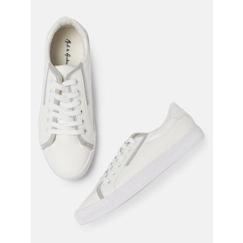 Mast & Harbour Men White Sneakers