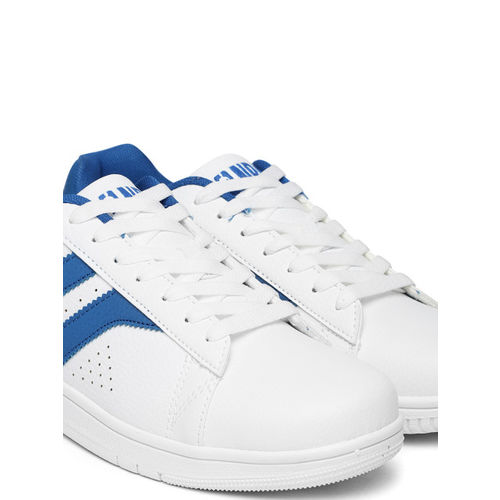 394327a3f5 Buy NBA Men White New York Knicks Sneakers online | Looksgud.in