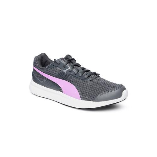 Puma Unisex Grey Escaper Pro Iron Gate-Orchid Sneakers