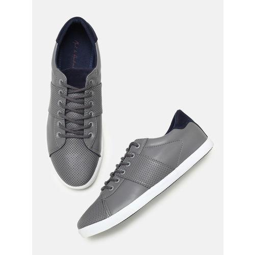 Mast & Harbour Men Grey Sneakers