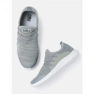 sports shoes 4d313 0da16 Crew STREET Men Grey Sneakers