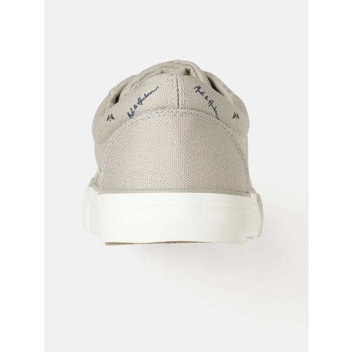 Mast & Harbour Men Grey Printed Sneakers