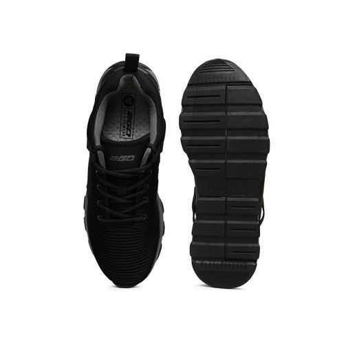 2GO Men Black Training or Gym Shoes
