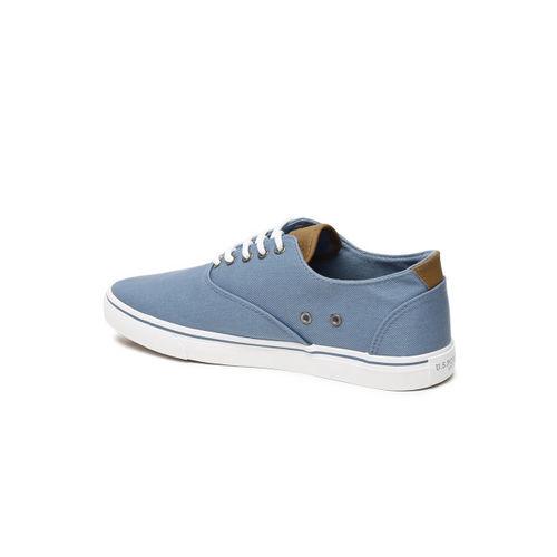 U.S. Polo Assn. Men Blue Sneakers