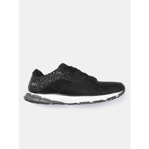 HRX by Hrithik Roshan Men Black Dash Series Textured Running Shoes