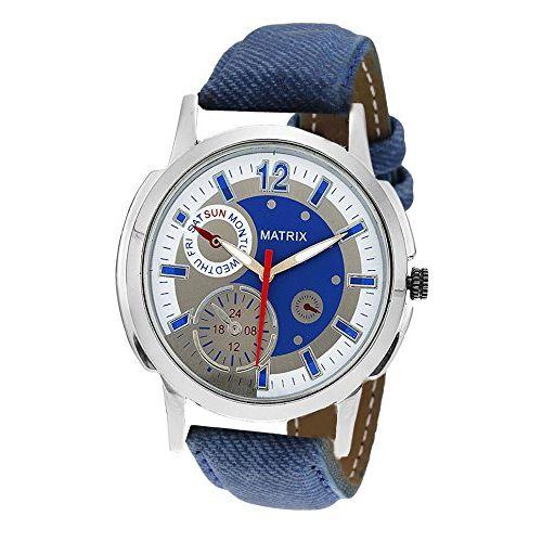 Matrix Analog Multi Colour Dial Men's Watch-CH9-BLU
