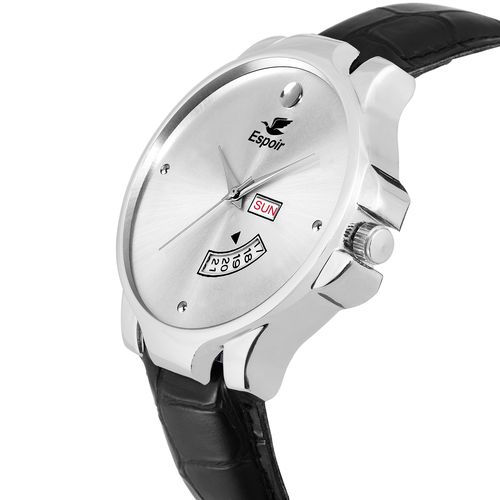Espoir Analog Silver Dial Day and Date Boy's and Men's Watch - SilverInfiMovado02