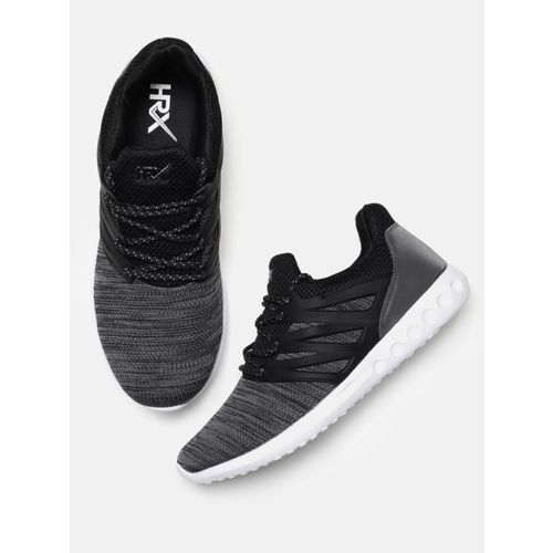 HRX by Hrithik Roshan Men Rage-2 Black Running Shoes