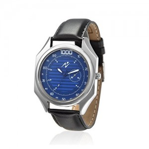 Yepme Black Round Blue Dial Watch - YPMWATCH2356