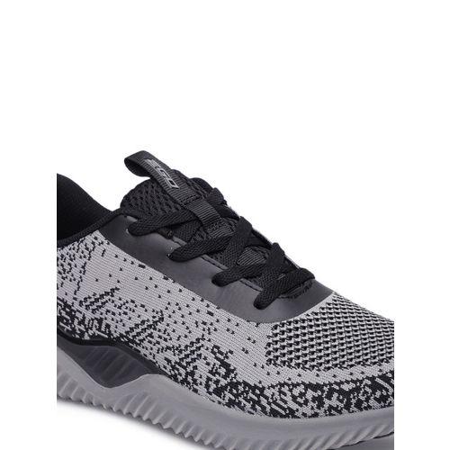 2GO Men Grey Running Shoes