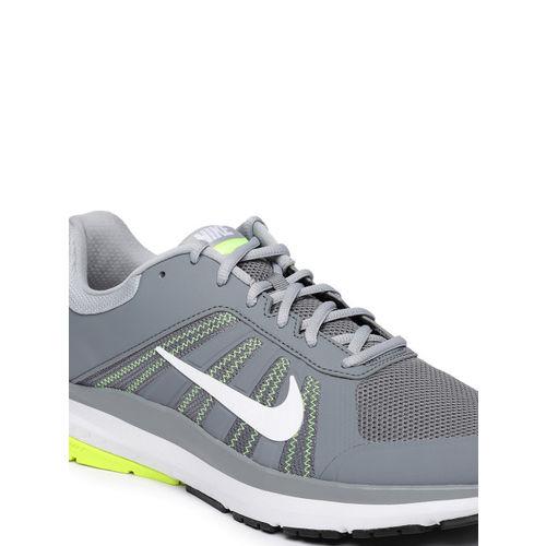 Nike Men Grey DART 12 MSL Leather Running Shoes