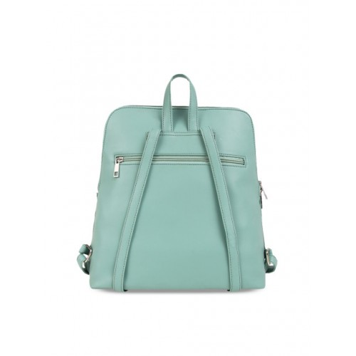 Toteteca Green Polyrethane Backpack