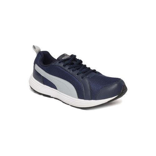 b7f1e8a05055e Buy Puma Men Navy Blue & Grey Rambo IDP Running Shoes online ...