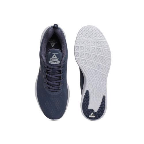 PEAK Men Navy Blue Running Shoes
